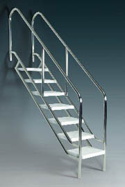 Astral disabled access ladders hydraulic chair lift