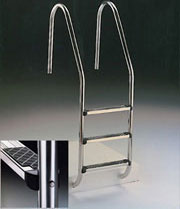 AstralPool Standard Ladder - Deluxe Model with Top Double Tread