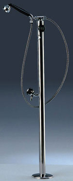 Astral - Shower with detachable shower head and footwash