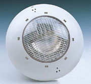 Lights for concrete pools