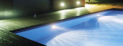 swimming pool lights from Brookforge swimming pool lighting