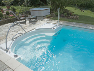 Riviera One Piece Swimming Pools From Brookforge Swimming