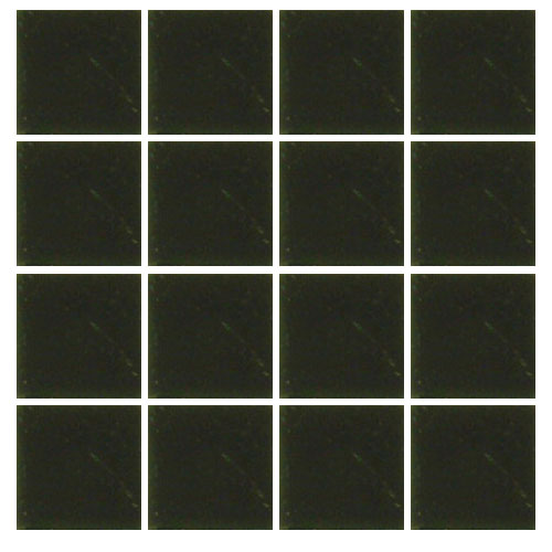 Ceramic swimming pool mosaic tile black matt for Swimming pool ceramic tile