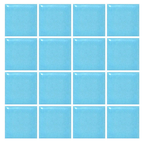 Ceramic swimming pool mosaic tile sky blue brookforge for Swimming pool ceramic tile
