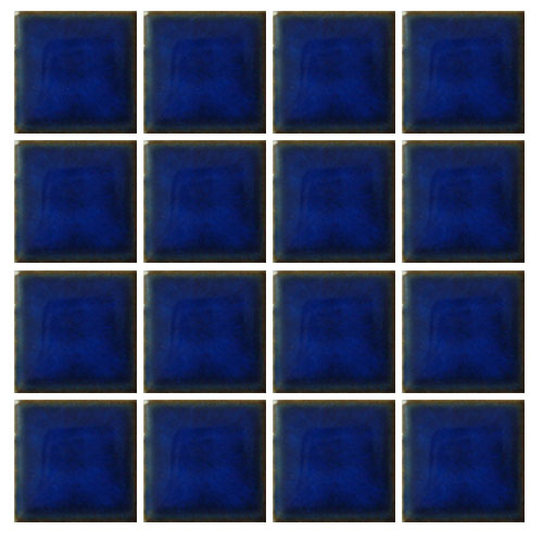 Ceramic swimming pool mosaic tile sapphire brookforge for Swimming pool ceramic tile