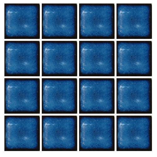 Ceramic Swimming Pool Mosaic Tile Baltic Blue